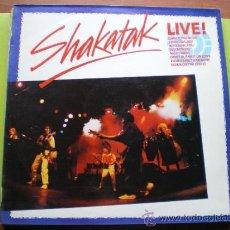 Dischi in vinile: SHAKATAK LIVE! LP 1985 POLYDOR EDICION ESPAÑOLA. Lote 56629656