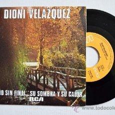 Discos de vinilo: DIONI VELAZQUEZ-OTOÑO SIN FINAL-SU SOMBRA Y SU CALOR-¡¡NUEVO!!-SINGLE-1979-RCA-SPÑ. Lote 38739930