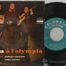 Discos de vinilo: AMALIA RODRIGUES EP A L'OLYMPIA PORTUGAL. Lote 38740484