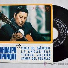 Discos de vinilo: ATAHUALPA YUPANQUI-VIDALA DEL CAÑAVERAL-LA ANDARIEGA…-¡¡NUEVO!!-EP-1968-RCA-SPÑ. Lote 38743916