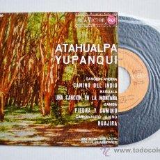 Discos de vinilo: ATAHUALPA YUPANQUI-CAMINO DEL INDIO-UNA CANCION EN LA MONTAÑA…-¡¡NUEVO!!-EP-1964-RCA-SPÑ. Lote 38743941