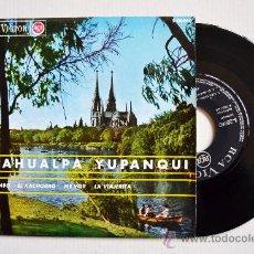 Discos de vinilo: ATAHUALPA YUPANQUI-MALAMBO-EL KACHORRO…-¡¡NUEVO!!-EP-1966-RCA-SPÑ. Lote 38743961