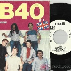 Discos de vinilo: UB40 SINGLE PROMOCIONAL RED RED WINE ESPAÑA 1983. Lote 38746069