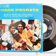 Discos de vinilo: JORGE NEGRETE-ME HE DE COMER ESA TUNA…-¡¡NUEVO!!-EP-1967-RCA-SPÑ. Lote 38751148