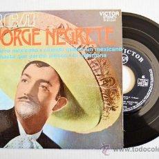 Discos de vinilo: JORGE NEGRETE-EL CHARRO MEXICANO…-¡¡NUEVO!!-EP-1972-RCA-SPÑ. Lote 38751166