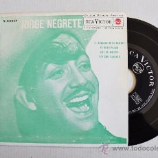 Discos de vinilo: JORGE NEGRETE-EL AHIJADO DE LA MUERTE…-¡¡NUEVO!!-EP-1962-RCA-SPÑ. Lote 38751186