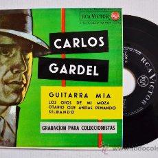 Discos de vinilo: CARLOS GARDEL-GUITARRA MIA…-¡¡NUEVO!!-EP-1962-RCA-SPÑ. Lote 38753787
