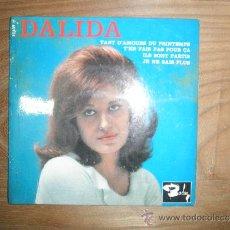 Discos de vinilo: DALIDA. TANT D´AMOURS DU PRINTEMPS + 3. EP. BARCLAY. EDICION FRANCESA. Lote 38757968