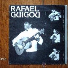 Discos de vinilo: RAFAEL GUIGOU - CAMINAR + ESTRELLAS AZULES. Lote 38786016