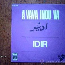 Discos de vinilo: IDIR - A VAVA INOU VA + TOMACAHUT N´ TESKURT . Lote 38786424