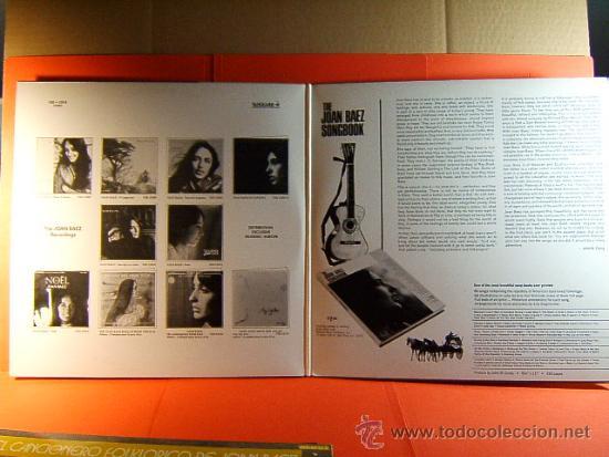 Discos de vinilo: THE JOAN BAEZ COUNTRY MUSIC ALBUM - VANGUARD - TWOFERS - MUSIDISC EUROPE -FRANCIA - 1979 - 2 LPS ... - Foto 2 - 38763131