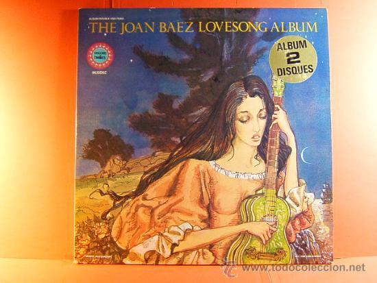 THE JOAN BAEZ LOVESONG ALBUM - VANGUARD TWOFERS - MUSIDISC - EUROPA - FRANCIA - 1980 - 2 LPS ... (Música - Discos - LP Vinilo - Cantautores Extranjeros)