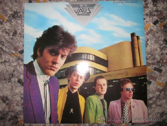 THE JAGS - EVENING STANDARDS - MOD,POWER POP - EXCELENTE LP. (Música - Discos - LP Vinilo - Pop - Rock - New Wave Extranjero de los 80)
