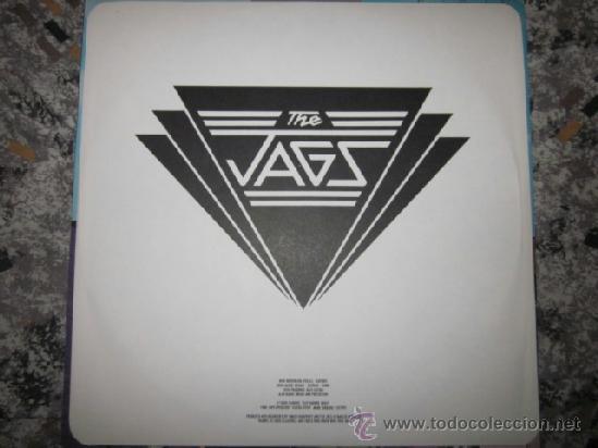 Discos de vinilo: THE JAGS - EVENING STANDARDS - MOD,POWER POP - EXCELENTE LP. - Foto 4 - 38765027