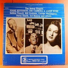 Discos de vinilo: THE BEBOP SINGERS- RECORDED 1953- EDDIE JEFFERSON ..- PRESTIGE WASHINGTON ORIGINAL USA- 1970- LP .... Lote 38766185