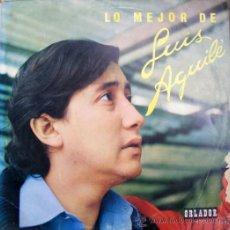 Discos de vinilo: LP - LO MEJOR DE LUIS AGUILE. Lote 38768908