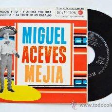 Discos de vinilo: MIGUEL ACEVES MEJIA-LA NOCHE Y TU…-¡¡NUEVO!!-EP-1962-RCA-SPÑ. Lote 38780084