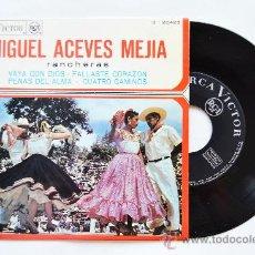 Discos de vinilo: MIGUEL ACEVES MEJIA-VAYA CON DIOS…-¡¡NUEVO!!-EP-1961-RCA-SPÑ. Lote 38780154
