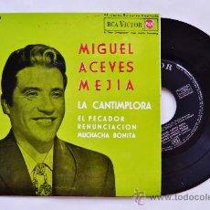 Discos de vinilo: MIGUEL ACEVES MEJIA-LA CANTIMPLORA…-¡¡NUEVO!!-EP-1962-RCA-SPÑ. Lote 38780263