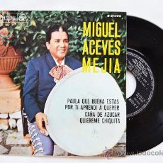 Discos de vinilo: MIGUEL ACEVES MEJIA-PAULA QUE BUENA ESTAS…-¡¡NUEVO!!-EP-1967-RCA-SPÑ. Lote 38780292