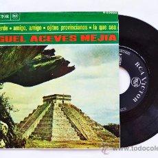 Discos de vinilo: MIGUEL ACEVES MEJIA-HOJITA VERDE…-¡¡NUEVO!!-EP-1966-RCA-SPÑ. Lote 38780311