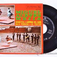 Discos de vinilo: MIGUEL ACEVES MEJIA-CHIQUITITA…-¡¡NUEVO!!-EP-1969-RCA-SPÑ. Lote 38780340