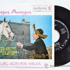 Discos de vinilo: MIGUEL ACEVES MEJIA-VIEJOS AMIGOS…-¡¡NUEVO!!-EP-1969-RCA-SPÑ. Lote 38780361