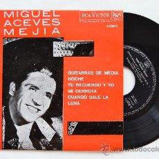 Discos de vinilo: MIGUEL ACEVES MEJIA-GUITARRAS DE MEDIANOCHE…-¡¡NUEVO!!-EP-1963-RCA-SPÑ. Lote 38780383