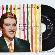 Discos de vinilo: MIGUEL ACEVES MEJIA-CARIÑO NUEVO…-¡¡NUEVO!!-EP-1962-RCA-SPÑ. Lote 38780401