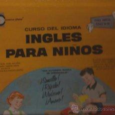 Discos de vinilo: LP-INGLES PARA NIÑOS-CURSO DE IDIOMAS-CONVERSE PHONE 375-USA-1973. Lote 38784961