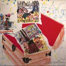 Discos de vinilo: LP-CUENTOS PARA NIÑOS-ZAFIRO 90-1967-VINILO ROJO-CUADRO ACTORES RNE BARCELONA J M SORIANO. Lote 38785023