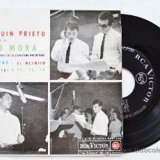 Discos de vinilo: TITO MORA-MUCHACHO…-¡¡NUEVO!!-EP-1963-RCA-SPÑ. Lote 38785322