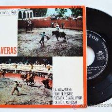 Discos de vinilo: TRIO CALAVERAS-LA MALAGUEÑA…-EP-1967-RCA-SPÑ. Lote 38785878