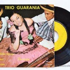 Discos de vinilo: TRIO GUARANIA-MI DICHA LEJANA…-EP-1962-IBEROFON-SPÑ. Lote 38785963