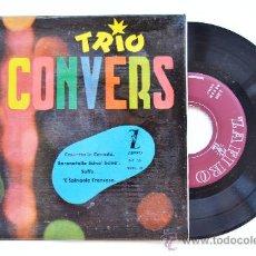 Discos de vinilo: TRIO CONVERS VOL.II-CASSETTA IN CANADA…-EP-1958-ZAFIRO-SPÑ. Lote 38786135