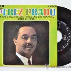 Discos de vinilo: PEREZ PRADO-LA VIRGEN MACARENA…-¡¡NUEVO!!-EP-1963-RCA-SPÑ. Lote 38786329