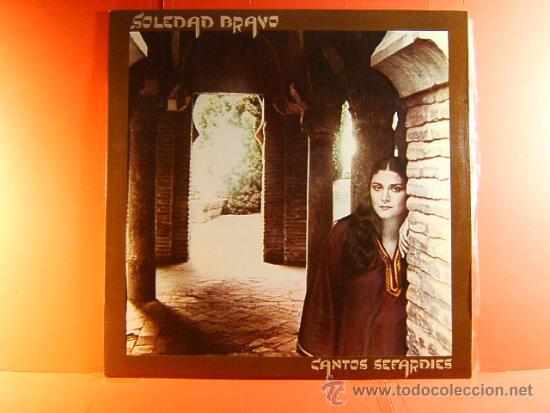 CANTOS SEFARDIES - SOLEDAD BRAVO - ARREGLOS RICARDO MIRALLES - ANTONIO SANCHEZ - CBS - 1980 - LP ... (Música - Discos - LP Vinilo - Cantautores Extranjeros)