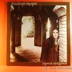 Discos de vinilo: CANTOS SEFARDIES - SOLEDAD BRAVO - ARREGLOS RICARDO MIRALLES - ANTONIO SANCHEZ - CBS - 1980 - LP .... Lote 38786389