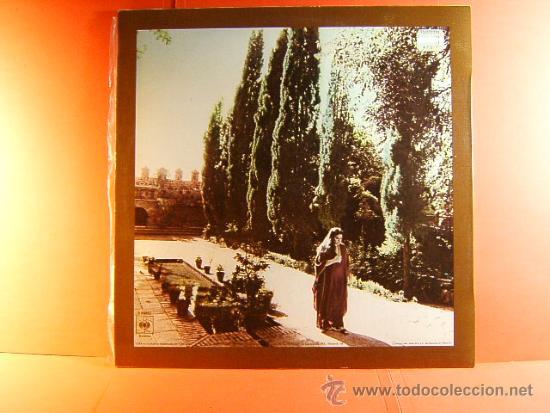 Discos de vinilo: CANTOS SEFARDIES - SOLEDAD BRAVO - ARREGLOS RICARDO MIRALLES - ANTONIO SANCHEZ - CBS - 1980 - LP ... - Foto 2 - 38786389