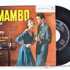 Discos de vinilo: PEREZ PRADO-MAMBO POR EL REY…-¡¡NUEVO!!-EP-1963-RCA-SPÑ. Lote 38786409