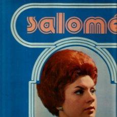 Discos de vinilo: LP SALOME ( CANCIONES DE LEON BORRELL, MOGOL, AUGUSTO ALGUERO, DOC POMUS, GINO PAOLI, ETC ) . Lote 38787487