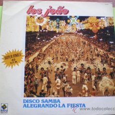 Discos de vinilo: MAXI - LOS JOAO - DISCO SAMBA ALEGRANDO LA FIESTA - EDICION ESPAÑOLA, BELTER 1983 PEPETO. Lote 38788241