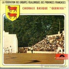 Discos de vinilo: EP EUSKADI FOLK : CORAL VASCA GERNIKA : HIRLI DAMATXO, KEN KEN, ANDERENOP BAT, ETC . Lote 38788506