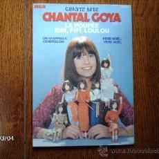 Discos de vinilo: CHANTAL GOYA - LA POUPEE + 3. Lote 38791475