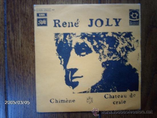 RENE JOLY - CHIMENE + CHATEAU DE CRAIE (Música - Discos - Singles Vinilo - Cantautores Internacionales)