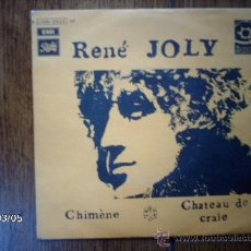 Discos de vinilo: RENE JOLY - CHIMENE + CHATEAU DE CRAIE. Lote 38801498
