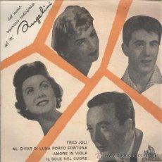 Discos de vinilo: ANGELINI. TRES JOLI. CETRA SAEF 1959. PERFECTO. Lote 38791859