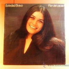 Discos de vinilo: FLOR DE CACAO - SOLEDAD BRAVO - CBS - LETRAS CANCIONES - PRODUCCION JESUS QUINTERO - 1979 - LP ... . Lote 38792098