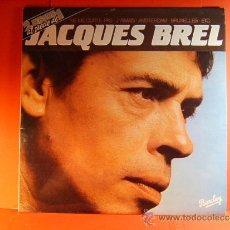 Discos de vinilo: JACQUES BREL - NE ME QUITTE PAS, J'AMAIS, AMSTERDAM, ETC - BARCLAY MOVIEPLAY - 1981 - DOBLE LP ... . Lote 38792496