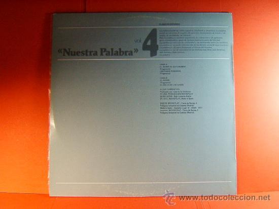 Discos de vinilo: NARRACIONES - RECITA ALEJO CARPENTIER - CUBA- CASA DE LAS AMERICAS - MOVIE PLAY GONG - 1977 - LP ... - Foto 2 - 38793445